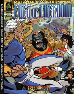 Mutants & Masterminds: Foes of Freedom
