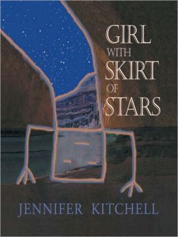 Girl With Skirt of Stars