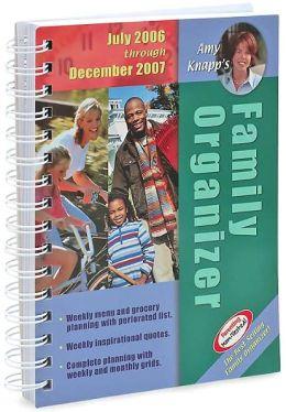 2007 Amy Knapp's Family Organizer Calendar