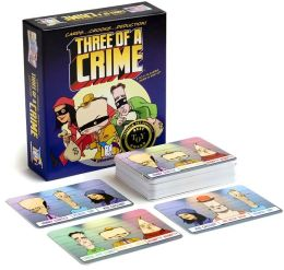 Three of a Crime Card Game