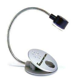 Black 2 LED Flex-Neck Clip-On Reading Light