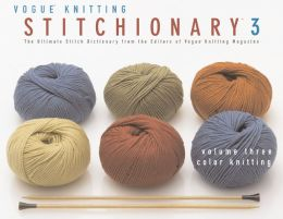 The Vogue® Knitting Stitchionaryy