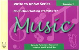 Nonfiction Writing Prompts for Secondary Music