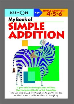My Book of Simple Addition Kumon
