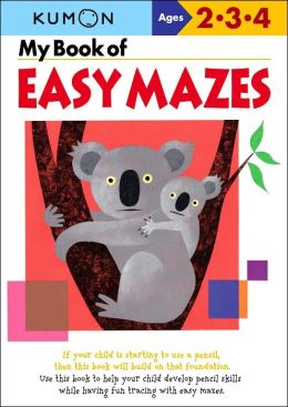 My Book of Easy Mazes (Kumon Series)