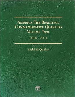 2016-2021 P&D America the Beautiful Quarter Folder Volume II