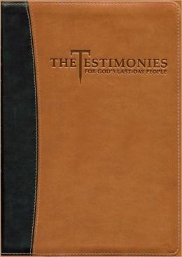 Testimonies for the Church (Brown/Black Cover)