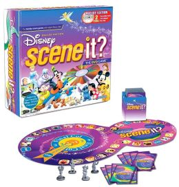 Scene It? Deluxe DisneyTin DVD Board Game