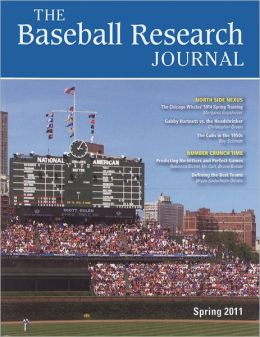 Baseball Research Journal (BRJ), Volume 40 #1
