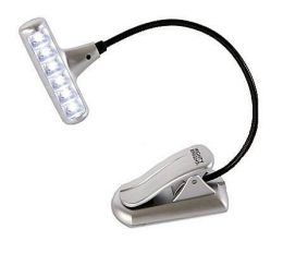 Hammerhead Book Light, Silver