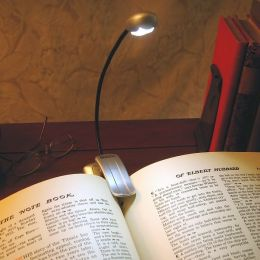 Mighty Bright Silver Xtraflex 2 LED Booklight (batt inc)