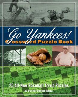 Go Yankees! Crossword Puzzle Book