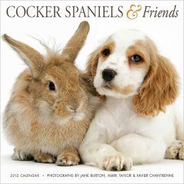 2012 Cocker Spaniels & Friends Wall Calendar