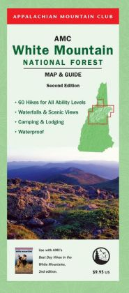 AMC White Mountain National Forest Map & Guide, 2nd