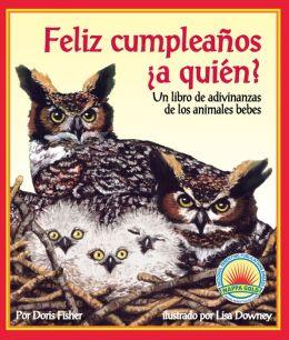Feliz cumpleaños ¿a quién? un libro de adivinanzas de los animales bebes (NOOK Comic with Zoom View)