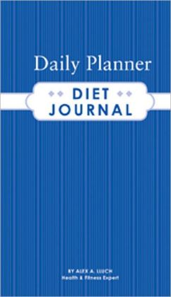 Daily Planner Diet Journal [With Sticker(s)]