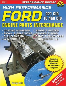 High-Performance Ford Engine Parts Interchange