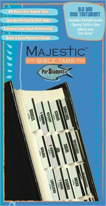 Majestic Bible Tabs for Students