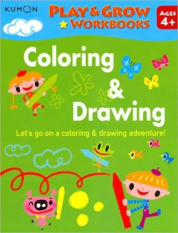Kumon Play and Grow Workbooks: Coloring and Drawing