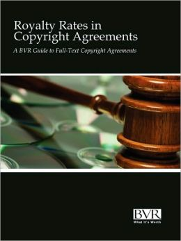 Royalty Rates In Copyright Agreements