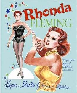 Rhonda Fleming Paper Dolls