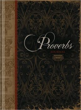 Proverbs Journal Bound Lined Journal 6.25 X 8.25
