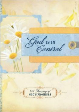 God is In Control Promise Book