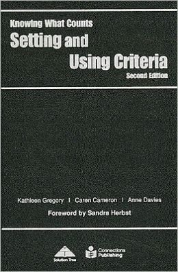Setting and Using Criteria