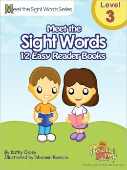 Meet the Sight Words Easy Reader Books - Level 3 (set of 12 books)