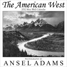 The American West 2012 Mini Wall Calendar