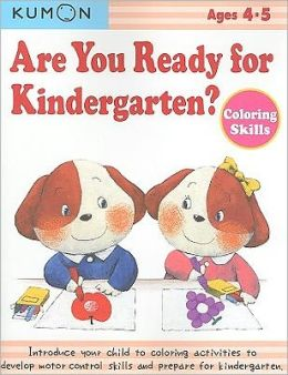 Are You Ready for Kindergarten? Coloring Skills