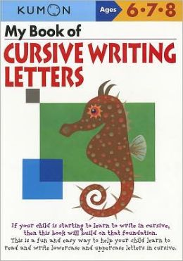 My Book of Cursive Writing Letters: Letters