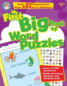 My First Big Book of Word Puzzles, Grades 1 - 3