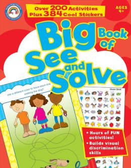 Big Book of See and Solve, Grades Pk - 1