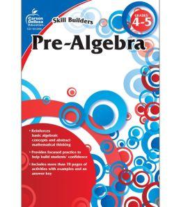 Pre-Algebra, Grade 4-5