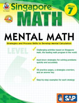 Singapore Math Mental Math Level 6: Grade 7