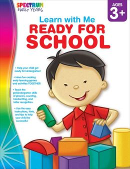 Learn with Me: Ready for School, Ages 3+