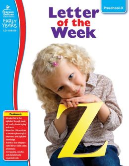 Letter of the Week: Grades PreK-K