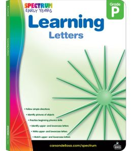 Spectrum Learning Letters, Grade Pre K