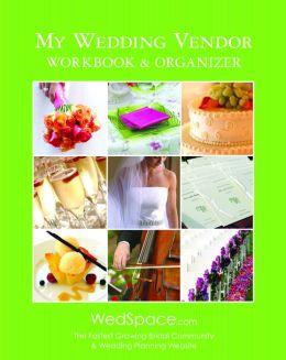 My Wedding Vendor Workbook & Organizer
