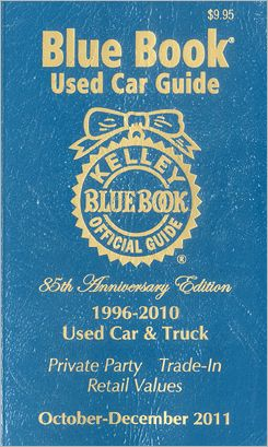 Kelley Blue Book Used Car Guide, 1996-2010 Models