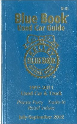 Kelley Blue Book Used Car Guide July-September 2012