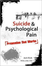 Suicide: Stopping the Pain
