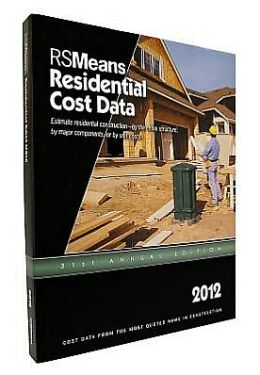 2012 Residential Cost Data