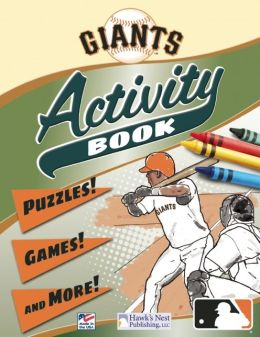 Giants Activity Book: Puzzles! Games! and More!