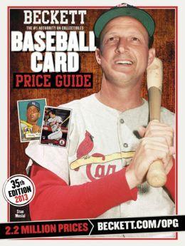 Beckett Baseball Card Price Guide No. 35: 2013 Edition