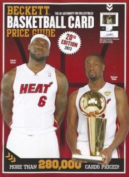 Beckett Basketball Card Price Guide No. 20 2012 Edition