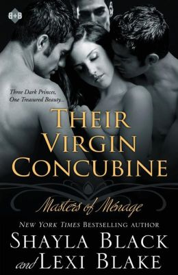 Their Virgin Concubine: Masters of M nage, Book 3