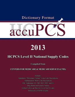 2013 AccuPCS HCPCS