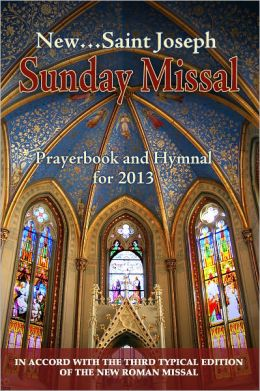St. Joseph Sunday Missal for 2013